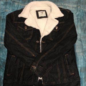 Other - Sherpa Denim Jacket